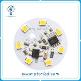 Runde 110V/220V Baugruppe IP-65 Driverless 3-5W Wechselstrom-LED für Birnen-Licht