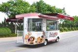 Elektrische Mobiele BBQ Vrachtwagens voor Verkoop, de Vrachtwagen van de Bakkerij