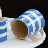 Jarro poner crema de cerámica occidental mediterráneo del jarro de leche del estilo de Drinkware