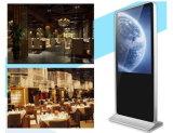 Fußboden 55-Inch, der DigitalSignage, Ad/Advertizing Spieler, Kiosk mit Rk3188 1.6g Vierradantriebwagen-Kern CPU steht
