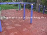 スリップ防止子供の庭のゴム製床タイル