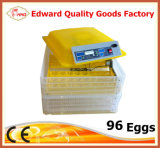 Incubateur automatique le plus neuf approuvé d'oeufs de la CE mini (EW-96)