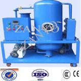 Unità di purificazione dell'olio lubrificante di vuoto che funziona in linea