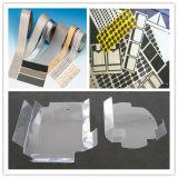 Machine de découpage en plastique imprimée de papier d'aluminium d'étiquette