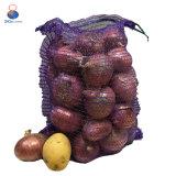 Ineinander greifen-Zwiebelen-Beutel Qingdao-pp. 50 lbs Raschel
