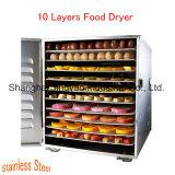 Напряжение питания на заводе промышленных фруктовых сушки машины для сушки фруктов