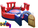 Арена бой арены PVC материальная раздувная jousting раздувная, раздувной гладиатор для случая