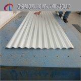 Feuille ondulée en acier de toiture de PPGI PPGL pour le matériau de construction