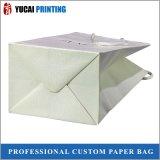 Мешок бумажной хозяйственной сумки высокого качества упаковывая