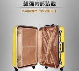 Bagagli di alluminio di Hardshell di corsa dei bagagli del coperchio del PC dei bagagli variopinti del carrello