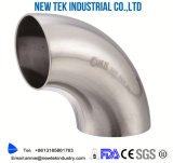 Ajustage de précision de pipe soudé sanitaire d'acier inoxydable DIN 11850/11852