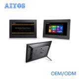 ABS negro clásico de 10 pulgadas con pantalla táctil del sistema operativo Android en un Tablet PC