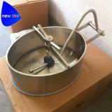 円のステンレス鋼タンク圧力Manway AISI 304 AISI 316