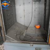 Пескоструйная обработка Shot очистка машины с крюка подвески