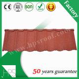 Сертификат Soncap 0,4 мм толщина красочных камня кровельной черепицы металла с покрытием для продажи