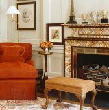 Novo Design Interior design usado mármore Surround Lareira Mantel T-7220