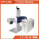 Grabador portable de cristal de madera del laser del CO2 de la máquina de grabado del PVC del caucho 30W