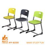 Dos capas de polipropileno fundido el apilamiento sillas para la escuela