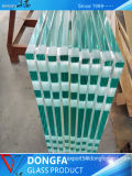 Transmitância elevada sem caixilho de alta qualidade baixa o vidro temperado de ferro