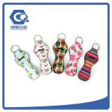 Изготовленный на заказ цветастый держатель Keychain бальзама подарков промотирования