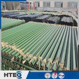 Preriscaldatore di aria smaltato del tubo con colore nero verde per la caldaia della centrale elettrica