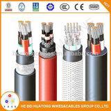 Enduit de PVC en fil de cuivre électrique isolés de PVC à bord du câble pour câble d'alimentation cuiseur à riz