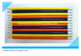 Crayon Hb en caoutchouc jaune avec gomme