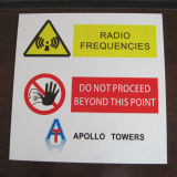 정연한 사려깊은 도로 안전 알루미늄 경고 도로 교통 표지