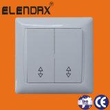 interruptor da parede de 1gang 1way com luz da UE com 10A /Switches e tipo dos soquetes (F6101)