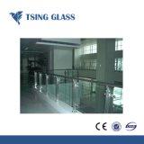 6.38-12.38mm temperada de vidro laminado com PVB/Filme Sentryglas