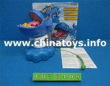 Nuova manovella del gioco dei giocattoli della plastica dei bambini la sfera di carta nella pattumiera (1076415)
