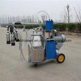 Máquina de ordenha do pistão único balde para vacas em aleitamento