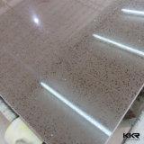 Pietra artificiale all'ingrosso del quarzo della Cina Brown per il rivestimento della parete (Q171123)
