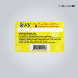 ISO 9001 Plastic ABS van pvc Materiële Metro van het Huisdier Kaart
