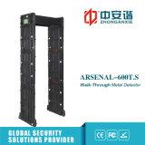 Zonas de alarma múltiple Detector de nivel con detector de metales de nivel 255 con batería de respaldo