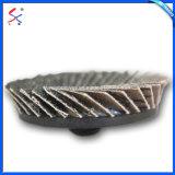 금속을%s MPa에 의하여 증명서를 주는 모래로 덮는 컵 디스크