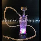 Prezzo poco costoso LED Shisha di disegno del narghilé acrilico operato del commercio all'ingrosso