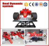 Sistema eléctrico 6DOF juego video de la arcada de la máquina con el coche F1 simulador de carreras juegos de simulador de máquina de juego