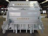 Fósforo móvel da máquina da compressão do lixo com caminhão do saneamento