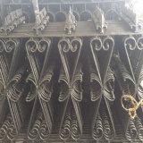 De openlucht Europese Omheining van het Ijzer van de Omheining van het Aluminium van de Stijl voor het Ornament van de Tuin van de Villa