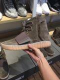 2017 originales populares 750 zapatos del alza de Yeezy con el color de Brown