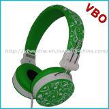 Do auscultadores estereofónico Handsfree da música dos auscultadores do OEM auscultadores relativos à promoção do presente (VB-9665D)