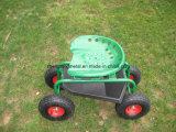 Assento novo do trabalho do rolamento do carro de jardim