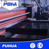 Equipo de perforación de la torreta hidráulica del CNC para la perforación del orificio de la placa de acero