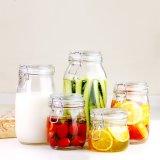 Freier runde Form-Verschluss-Glasbehälter für Stau
