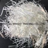 Materiales compuestos de fibra de vidrio de hormigón filamentos picados