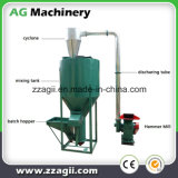 Uniformidad alta mezcla fertilizante vertical trituradora batidora de alimentación de aves de corral