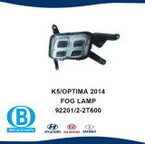 KIA K5 Optima 2014 Tampa Nevoeiro peças da carroçaria