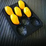 Одноразовые деловых обедов PP пластиковый лоток для манго с делителями