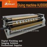 Boway Hjs500 libro en papel calefacción térmica Rodillo encolador de rodillo máquina pegamento termofusible